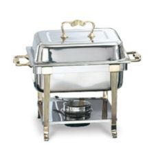 4 Quart Gold Trim  Chafer