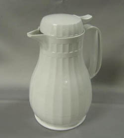 White Insulated Coffee Server