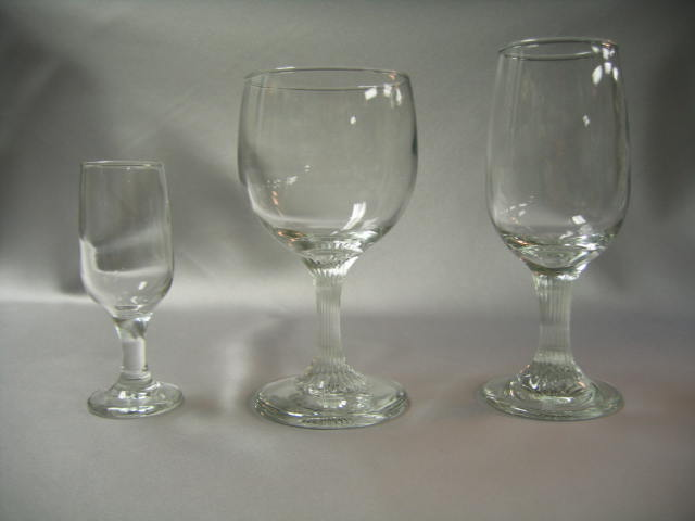 Cordial and Wine Glass