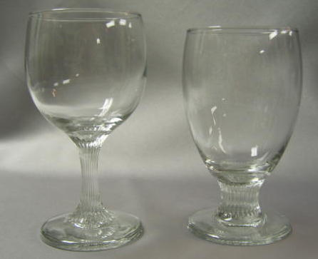 Water and Wine Glass