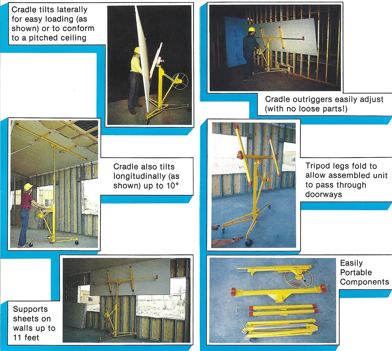 Sheet Rock Hoist